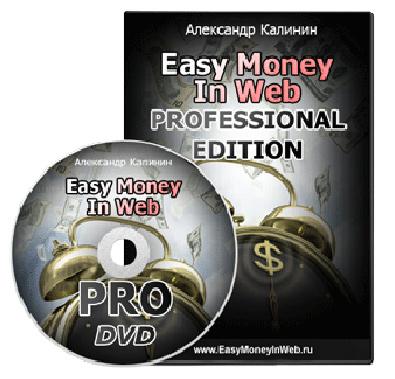 Видеокурс «EasyMoneyInWeb Professional Edition» со скидкой! Александр Калинин