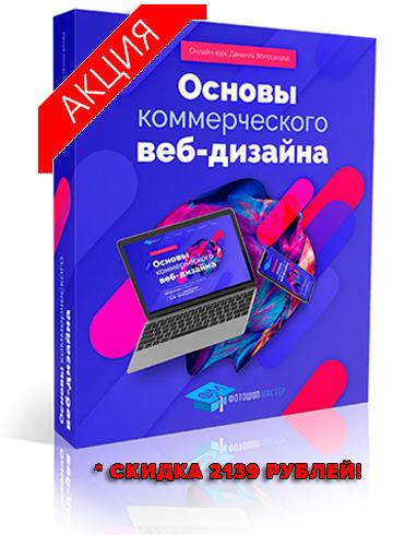 Руководство Основы коммерческого веб-дизайна скидка