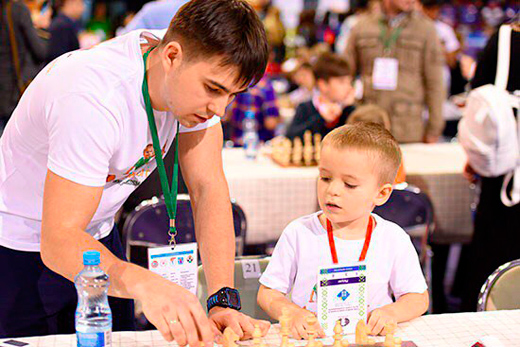 Александр Борисов - папа шахматиста Жорика