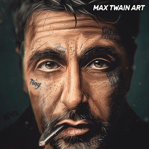 Арт-работа Макса Твейна 5