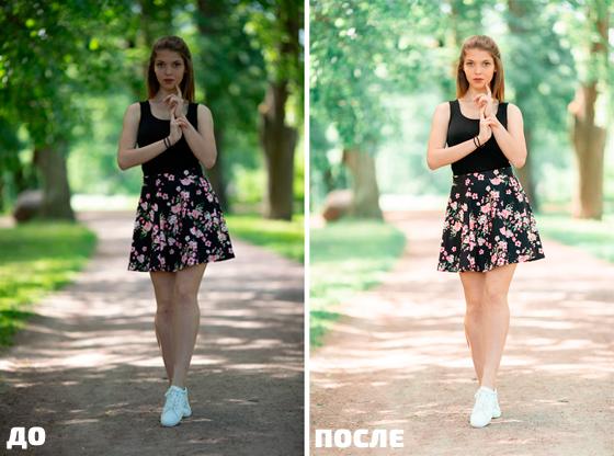 Видео Евгения Карташова - Цветокоррекция летних портретов