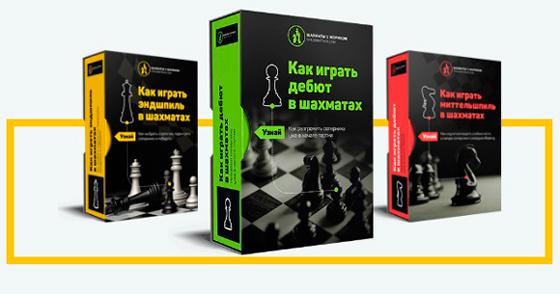 Шахматные видеокурсы дебют, миттельшпиль, эндшпиль от Школы Жорика