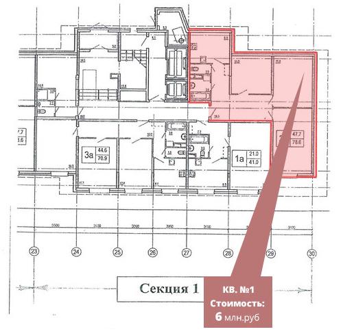 Деление квартир на студии - схема заработка 1