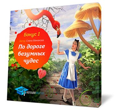 Коллаж По дороге безумных чудесот - от Елены Минаковой