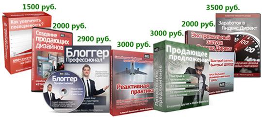 Распродажа всех видеокурсов издательства «Медиа-Эксперты» со скидкой 75%!