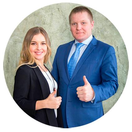 Юрий Медушенко и Мария Кузнецова