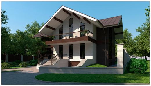 Архитектурное 3D-моделирование домов в 3Ds Max