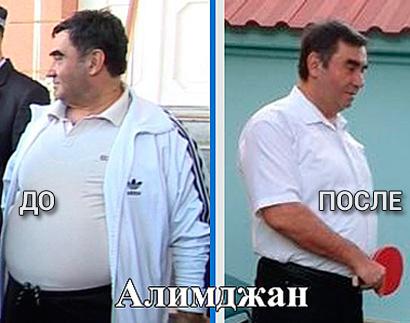 Отзыв Алимджана - похудел на диете Татьяны Малаховой на 30 кг отзыв