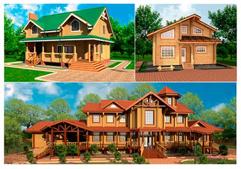 проектирование домов из дерева в archicad видеокурс