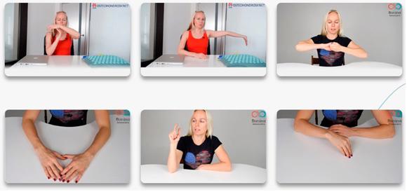 Упражнения, самомассаж, растяжка при онемении кистей рук - видео Александры Бониной