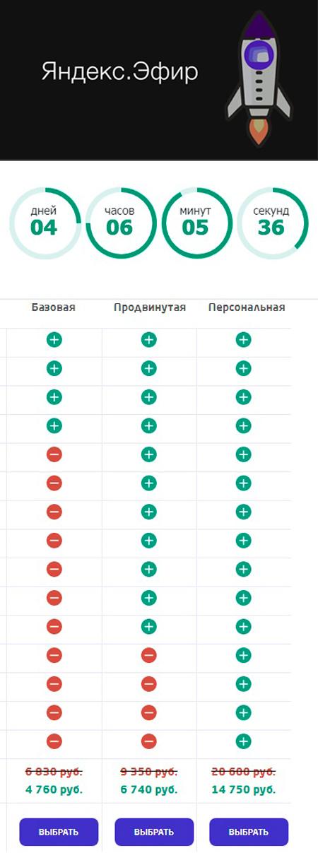 Видеокурс «Миллионер из Яндекс Эфира» со скидкой 2070 рублей - Иван Рогаль и Алексей Медведев